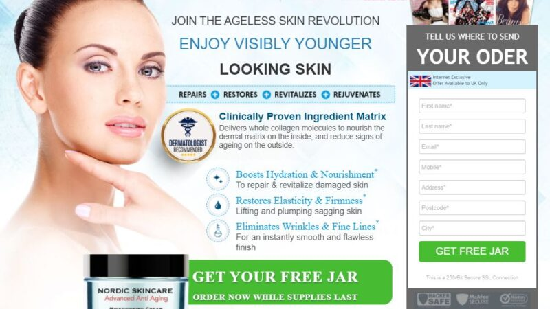 Nordic Skin Care Cream – Advanced Anti Aging Formula Work or Scam?